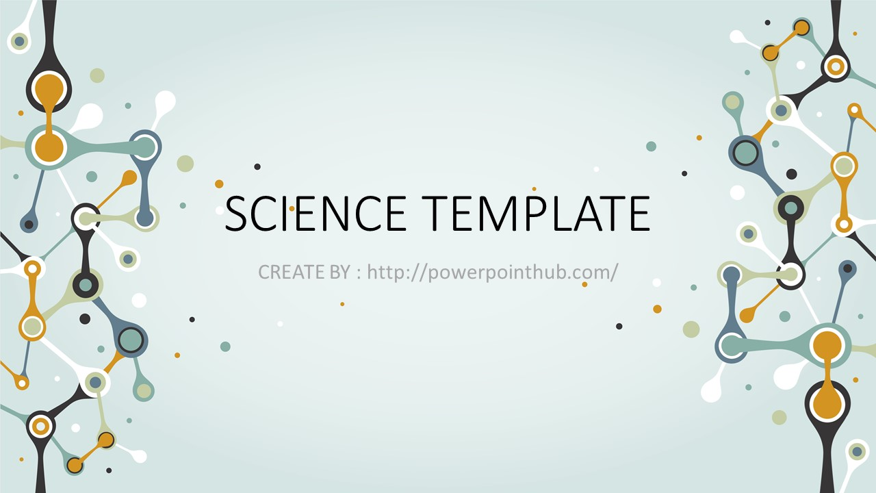 free powerpoint template nature science powerpoint templates free