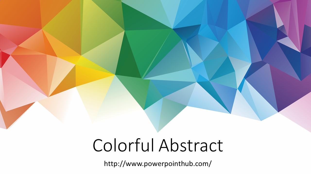 ฟรีเทมเพลต ภาพนามธรรม | free powerpoint template - abstract, Modern powerpoint