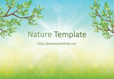 ฟรีเทมเพลต ธรรมชาติ | Free Powerpoint Template – Nature