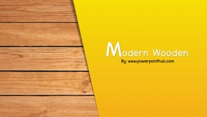 Font page | Modern Wooden Powerpoint Template