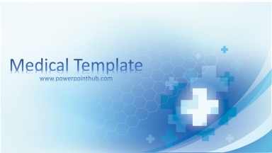 Free Powerpoint Template – Medical Template