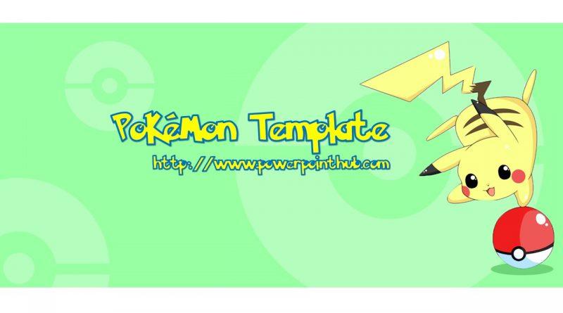 ฟรีเทมเพลต ปิกาจู| Free Powerpoint Template – ปิกาจู