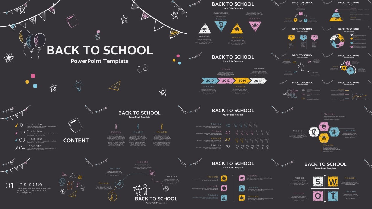 Back To School Powerpoint Template Powerpoint Hub
