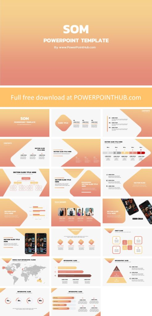 It is time to bring the light to your presentation slides with this elegant  Gradient PowerPoint template to impress your audience.