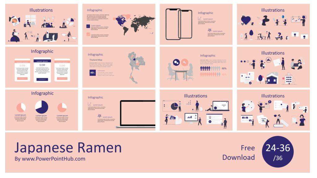 Japanese Ramen PowerPoint Template
